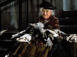 signora dei piccioni